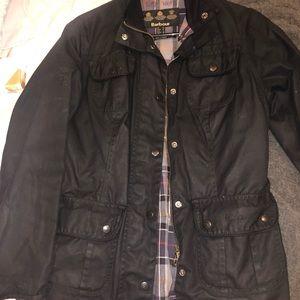 women's size six wax jacket